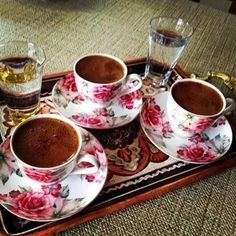 Turkish coffee...