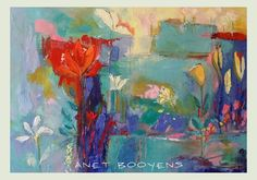 Garden in my mind (for sale ) by South African artist, Anet Booyens