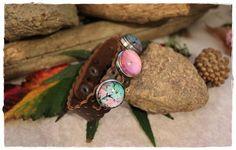 Leather Bracelet Women  Ephemeral  Limited par KhoutureFactory
