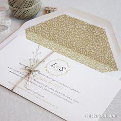 """Invitación boda - """"DELICADA"""""""