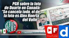 "PGR sobre la foto de Duarte en Canadá: ""Se cancela todo, el de la foto e..."