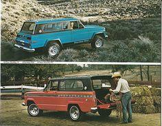 """1978 Jeep Cherokee Chief and 2 Door Cherokee """"S"""""""