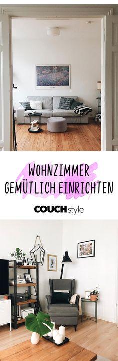 Wohnzimmer Bilder: Lass Dich Inspirieren! Wohnzimmer Gemütlich Einrichten:  ...