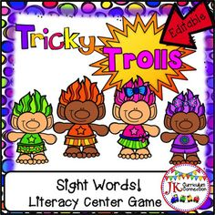 Students BEG to play this over and over again!  The more they play, the faster they memorize these key sight words!  This game is fast-paced with an element of surprise with every turn of the cards!  Print, laminate, cut out the cards and Game mat, and your students will be playing it tomorrow!