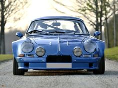 Alpine A110 Renault engine