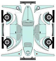 VW Beetle Template