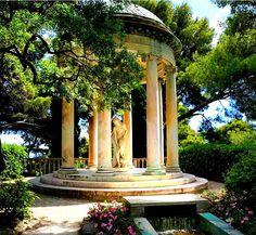 Villa Ephrussi de Rothschild, a French seaside villa located at Saint-Jean-Cap-Ferrat on the French Riviera.