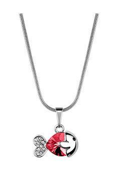 Bohemian Love Story Kette, Anhänger Little Fish, Swarovski® crystals silber Jetzt bestellen unter: https://mode.ladendirekt.de/damen/schmuck/halsketten/silberketten/?uid=4fe924f5-a314-5078-a6d5-4331cc8af8b9&utm_source=pinterest&utm_medium=pin&utm_campaign=boards #schmuck #halsketten #silberketten #bekleidung Bild Quelle: brands4friends.de