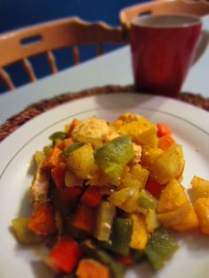 Curried Roasted Vegetables  