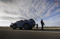 VBRG véhicule blindé à roue Gendarmerie du GBGM [Ref:1410-16-0005]