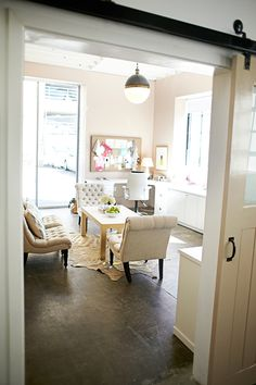 meeting space inspiration from Sugar Paper LA | 100 Layer Cakelet