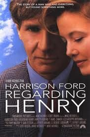 An original, rolled, double-sided, one-sheet movie poster x from 1991 for Mike Nichol's Regarding Henry with Harrison Ford and Annette Bening. Harrison Ford, Mike Nichols, Will Turner, Great Films, Good Movies, Excellent Movies, Awesome Movies, Famous Movies, Love Movie