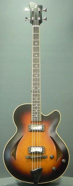 Atelier Z ATB-1 Bass Guitar #LardysChordophoneOfTheDay ~ https://www.pinterest.com/lardyfatboy/lardys-other-fretted-chordophones-of-the-day/ ~
