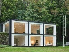 5 Inexpensive Modern Prefab Houses You Can Buy Right Now – My Life Spot Building A Container Home, Container Cabin, Container Buildings, Container Architecture, Container House Plans, Container House Design, Architecture Design, Casas Containers, Shipping Container Homes