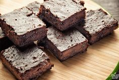 Flourless Brownies | Paleo Leap | A brownie recipe with a special spicy twist: read the recipe to see the secret ingredient!