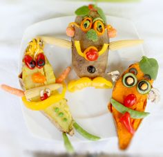 Veggies and Kids – Mr Baked Potato Heads