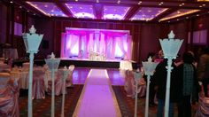 Shabnam & Hykal's Wedding, Pink and Whites Done at Brookstreet Hotel. Kanata ON May 2014
