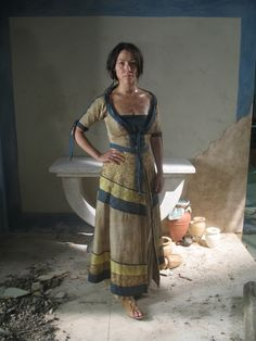 Minoan Peasant Girl - Last of the Minoans (BBC TV drama)
