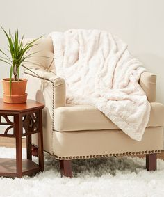 SALE today $12.79 Reg. $67.00  Throws in a variety of colors - makes a great Christmas gift, Wedding gift, Bridal Shower gift ~ #zulily! #zulilyfinds