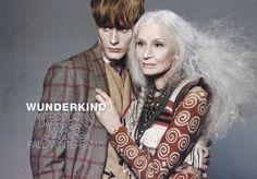 82 yr old model Daphne Selfe