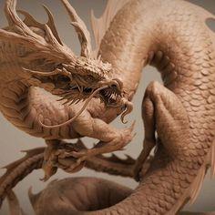 Big Dragon, Dragon Art, Japanese Dragon, Japanese Art, Dragon Anatomy, Dragon Garden, Legendary Dragons, Got Dragons, Dragon Pictures