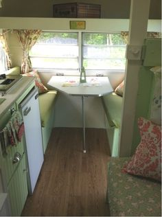 1970 Tag-a-long cottage interior