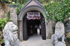 Le tunnel de vin de De Bay avec l'âge de 89 ans, un lieu à ne pas manquer se trouve dans la montagne de Ngu Hanh Son, Da Nang.