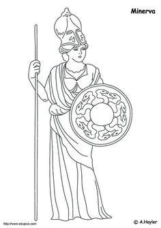 coloring page Roman era on Kids-n-Fun. At Kids-n-Fun you will always find the nicest coloring pages first! Ocean Coloring Pages, Mermaid Coloring Pages, Coloring Sheets For Kids, Cool Coloring Pages, Adult Coloring Pages, Coloring Books, Kids Coloring, Pusheen Coloring Pages, Printable Coloring Pages
