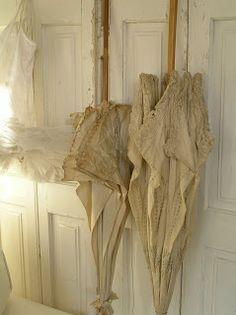 Pastels and Whites: Mini corsetje