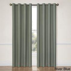 Eclipse Dane Grommet Blackout Window Curtain Panel