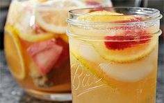 White Zinfandel Sangria...ohhhhh yes this sounds lovely for Spring and Summer!