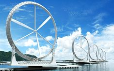 Wind Lens-Wind Turbine Could Boost Energy Generation 300%... Resembling giant white rims, these offshore turbines have the potential to produce up to three times as much energy as a standard offshore one....