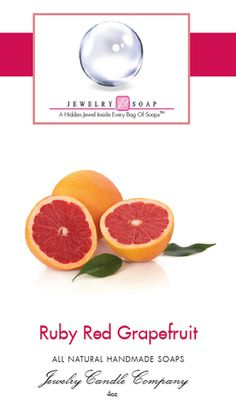 Straight from southern California, the sunny, clean and sweet fragrance of ruby red grapefruit is sure to please!