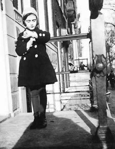 Anne Frank, looking cute as can be.