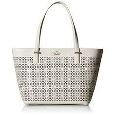 kate spade new york Cedar Street Perforated Mini Harmony Bag, Crisp Linen, One Size