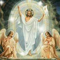 Картинки Икона Воскресение Христово смайлик анимация гифки фото рисунок Иконы