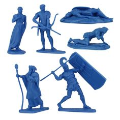 Trojan heroes from 3rd War at Troy figure set include Hector, Paris, Priam, and the face that launched 1,000 ships, Helen of Troy. Plastic Toy Soldiers, Plastic Soldier, Army Men, Army Guys, Toys Land, Puppet Toys, Trojan War, Military Figures, Designer Toys