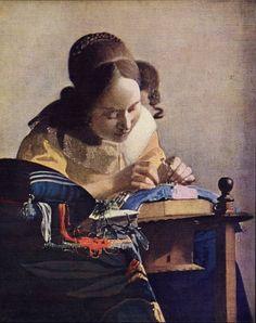 Fine Art: Vermeer's Lacemaker Louvre
