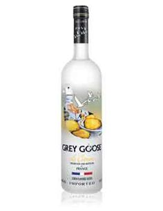 Grey goose le citron flavored vodka more