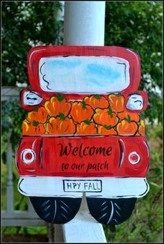 Personalized Welcome Sign, Thanksgiving Welcome Sign, Personalized Sign - Welcome, Thanksgiving