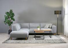 Aurora-divaanisohva. | Aurora corner sofa. #sohva #couch #finnishdesign #interiordesign #kulmasohva #divaani #sisustusinspiraatio #sisustussuunnittelu #olohuone #livingroom #scandinavian #scandinavianinterior #finsoffat Aurora, Le Mans, Couch, Scandinavian, Furniture, Home Decor, Settee, Decoration Home, Sofa