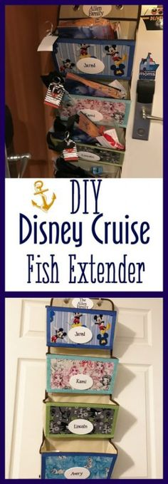 This easy DIY Disney Cruise Fish Extender is perfect for your sail on the high seas. This no-sew tutorial will hold all of your Fish Extender Gifts! Disney Halloween Cruise, Disney Cruise Tips, Disney Vacation Club, Disney Vacation Planning, Best Cruise, Cruise Vacation, Disney Vacations, Disney Trips, Vacation Packing