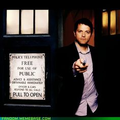 The only angel I'd ever allow to have the phone box...