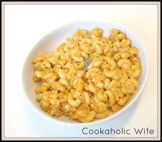 Cookaholic Wife: Pumpkin Mac and Cheese