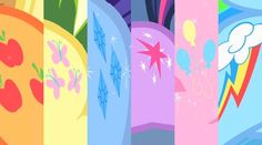 Pix For > My Little Pony Friendship Is Magic Cutie Marks Song