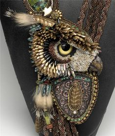 "Necklace Detail ""Shape Shifter"" by Heidi Kummli"