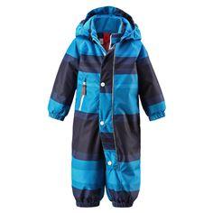 REIMA Boys Mini Overall CHARA navy #Kinderwinterjacke #Kinderskijacke #Kinderskioverall #Kinderskianzug  #blau #reima #warm #kuschelig #Kinder #Jungen