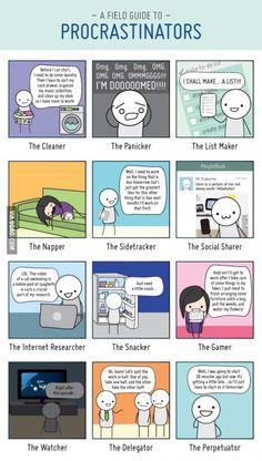 Dammit I'm procrastinator