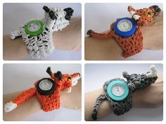 Loombicious Loomey Time 3D animal watch Rainbow Loom
