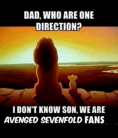 Lion king+avenged sevenfold=<3